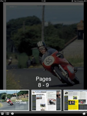 Screenshot Classic Racer Magazine on iPad