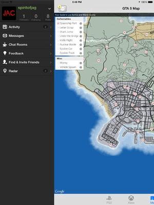Screenshot Cheats on iPad
