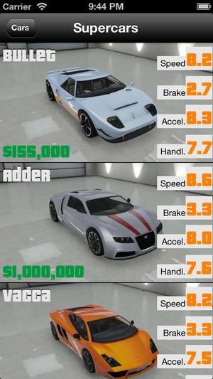 Screenshot Car Guide on iPhone