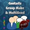 Contacts Make Group Multi Sending Free No Adv