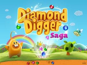 Screenshot Diamond Digger Saga on iPad