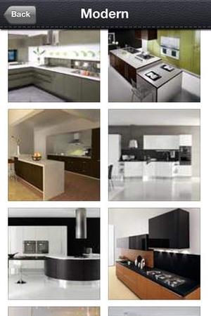 Screenshot Kitchen Photo Catalog on iPhone