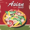Asian Food. Quick and Easy Cooking. Best cuisine traditional recipes & classic dishes. Cookbook