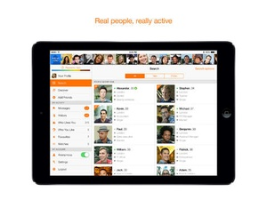 Screenshot Twoo Unlimited on iPad