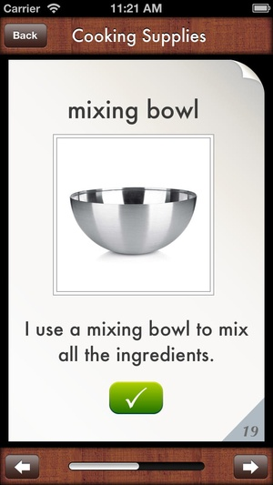 Screenshot i Get... Cooking Vocabulary and Create Recipe Photo Sequence Books on iPhone