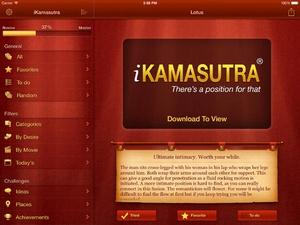 Screenshot iKamasutra® on iPad