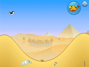 Screenshot Racing Penguin Flying on iPad