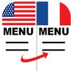 Le Menu Dit translate menus from English to French without an Internet connection