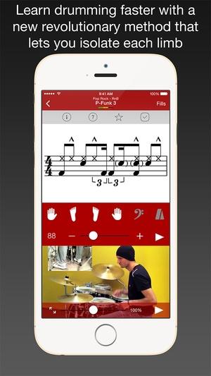Screenshot Drum School on iPhone