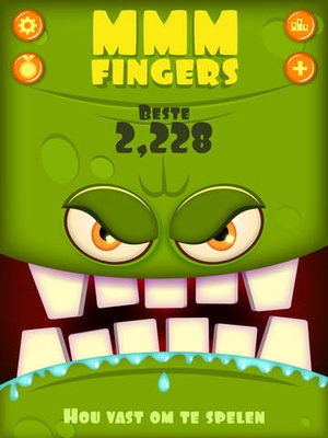 Screenshot Mmm Fingers on iPad