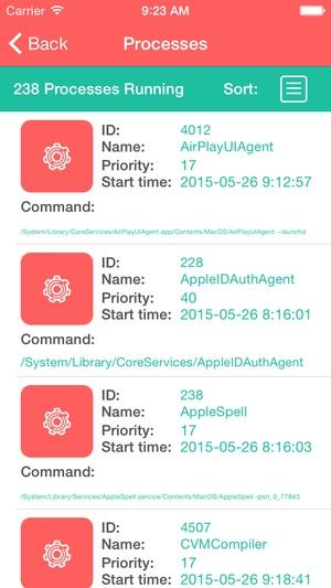 Screenshot CM Launcher on iPhone
