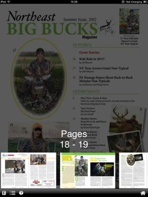 Screenshot Northeast Big Bucks on iPad