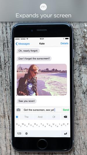 Screenshot Minuum on iPhone