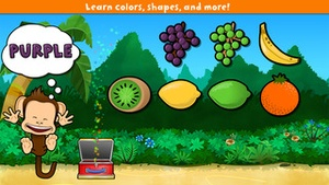 Screenshot Monkey Preschool Lunchbox on iPhone