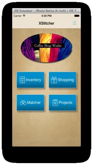 Screenshot XStitcher on iPhone