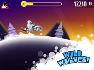 Screenshot Ski Safari on iPad