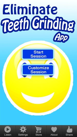 Screenshot Hypnosis App for Teeth Grinding by Open Hearts on iPhone