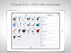 Screenshot Virtual Trainer PRO on iPad