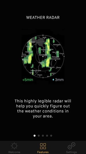 Screenshot Instaweather Meteo on iPhone