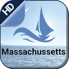 Massachussetts offline nautical charts for boating cruising and fishing