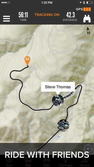 Screenshot Rever Motorcycle on iPhone