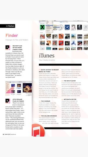 Screenshot Mac Life: the ultimate Apple magazine on iPhone
