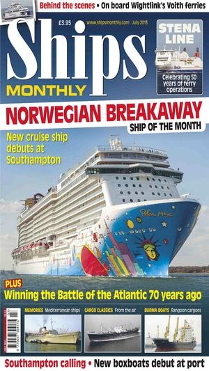 Screenshot Ships Monthly Magazine on iPhone