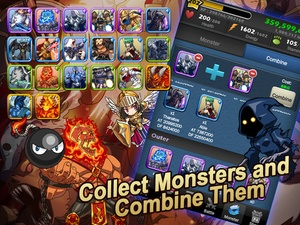 Screenshot Monster Warlord on iPad