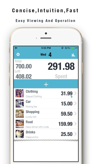 Screenshot My Wallet+ Savings Goals on iPhone