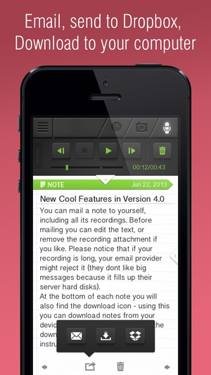 Screenshot Super Notes on iPhone