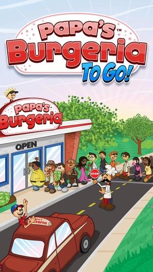 Screenshot Papa's Burgeria To Go! on iPhone