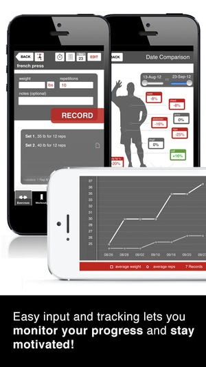 Screenshot Full Fitness : Exercise Workout Trainer on iPhone