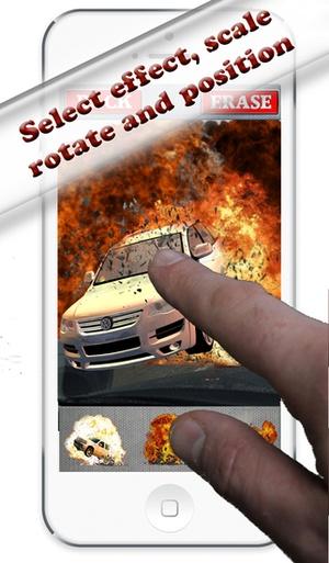 Screenshot Explosion FX Creator on iPhone