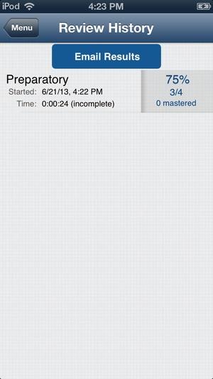 Screenshot Paramedic Review Plus on iPhone