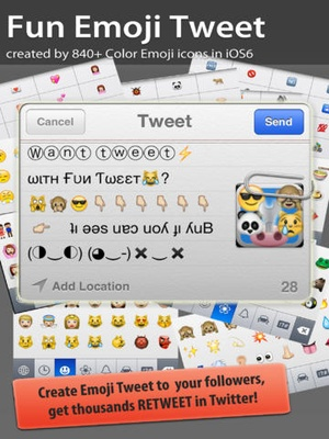 Screenshot Emoji 2 on iPad
