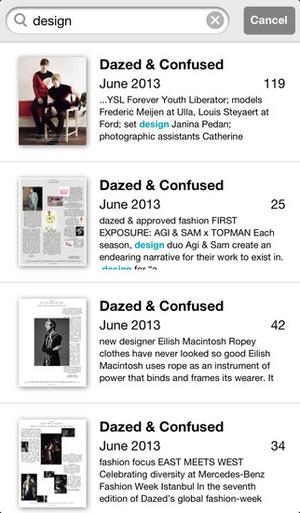 Screenshot Dazed & Confused on iPhone
