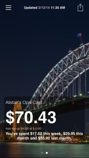 Screenshot My Opal on iPhone