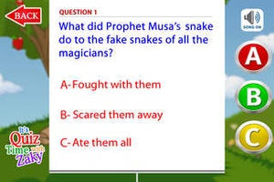 Screenshot Quiztime with Zaky 1 on iPhone