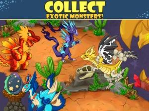 Screenshot Monster City on iPad