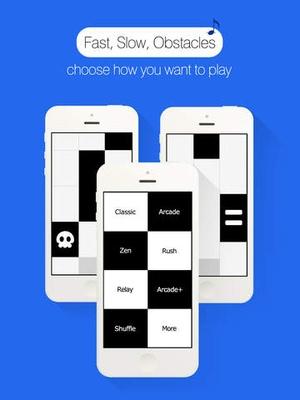 Screenshot Piano Tiles on iPad