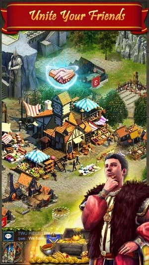 Screenshot Kingdom War  on iPhone