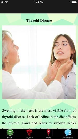 Screenshot Thyroid Disease on iPhone