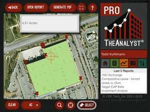 Screenshot TheAnalyst® PRO on iPad