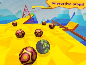 Screenshot Iron Ball Ride on iPad