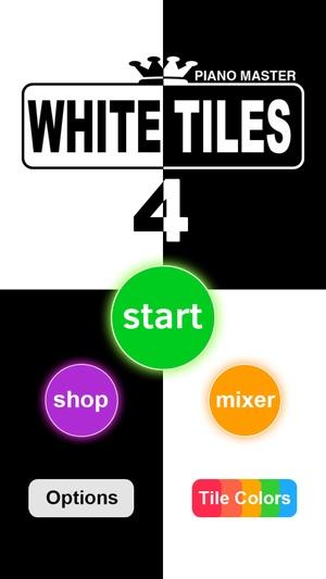 Screenshot White Tiles 4 : Piano Maste on iPhone