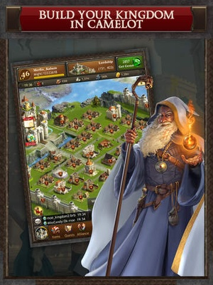 Screenshot Kingdoms of Camelot: Battle for the North ® on iPad