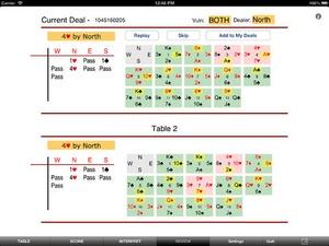 Screenshot Bridge Baron on iPad