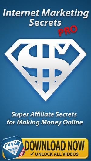 Screenshot Internet Marketing Income PRO on iPhone