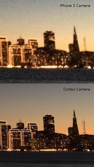 Screenshot Cortex Camera on iPhone