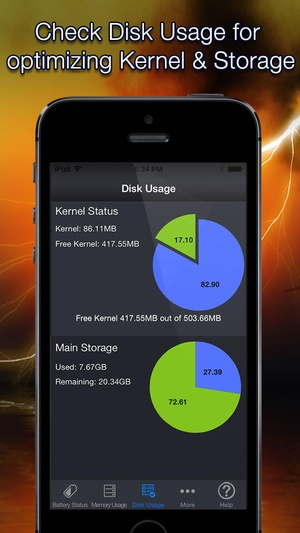 Screenshot Battery Analyst on iPhone